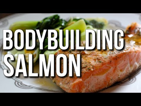 BODYBUILDING COOKING:  EASY FISH & HIGH-PROTEIN MEAL EXAMPLE