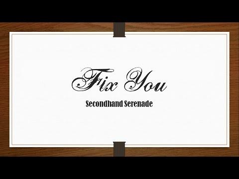 Secondhand Serenade - Fix You (Coldplay Cover) [Lyrics Sub Español/English]