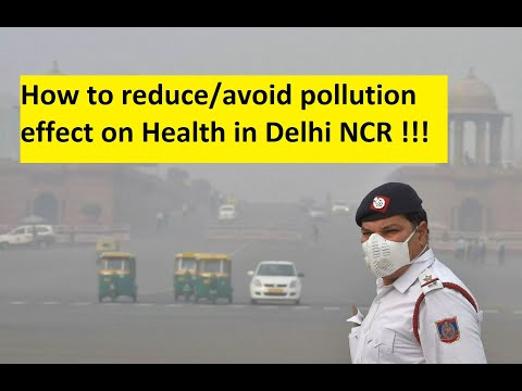 How to reduce air pollution effects on health !!!