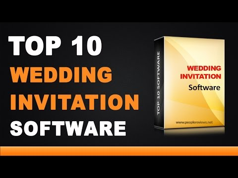 Best Wedding Invitation Design Software - Top 10 List