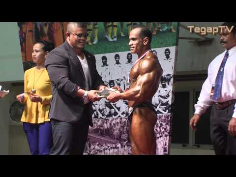 Mr ACT 2012 (Above 70kg): Prize Giving Ceremony