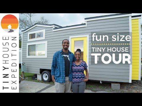 Tiny House Tour: The Fun Size House