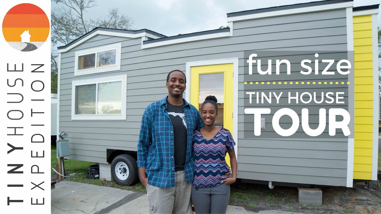 Young Couple's Fun Size Tiny House