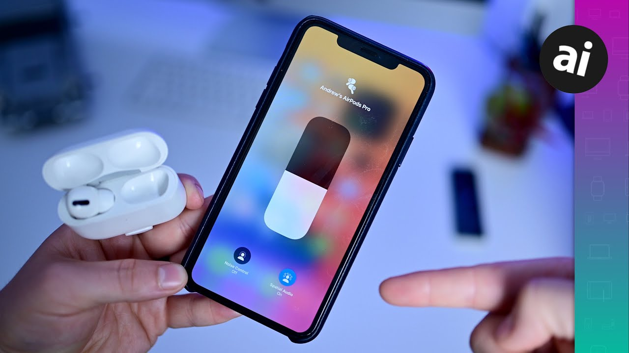 You HAVE To Try Spatial Audio on AirPods Pro with iOS 14! Instant Switching  Too! - YouTube