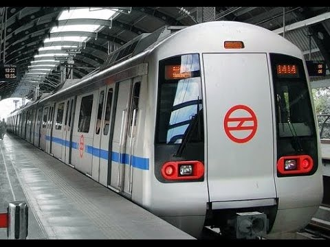 Metro Delhi World Class Train Youtube