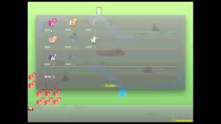 Let's Play Flash Games: Pony Tactics - Fluttershy OP!