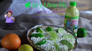 How To Make a Quick and Easy Key lime Pie