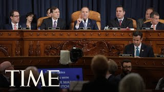 House Intelligence Enters Second Week Of Open Hearings In Trump Impeachment Inquiry | TIME thumbnail