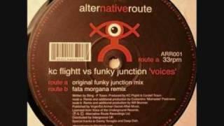 Kc Flight vs Funky Junction - Voices (Fata Morgana Rmx)
