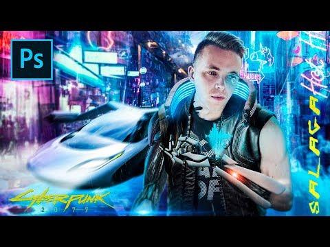 Cyberpunk 2077 | Photoshop | Speed Art.