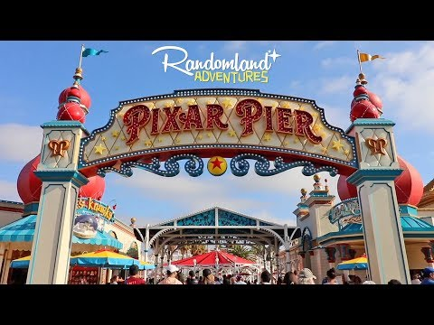 PIXAR PIER is NOW OPEN! + Tiki Room 55th Anniversary at Disneyland!!