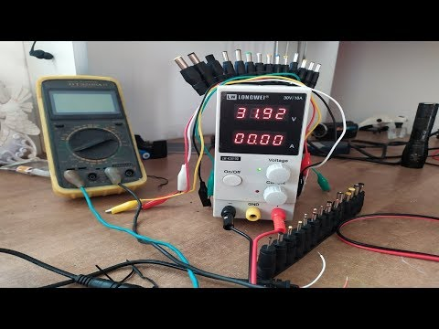 лабораторный блок питания  30в 10А с алиэкспресс