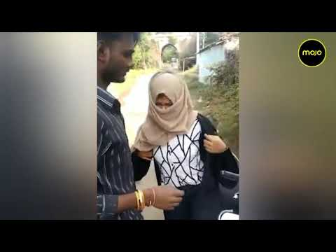 Download Bhopal | Mob Forces Girl To Take Off Burqa On Road | Video Goes Viral