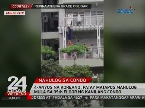 24 Oras: 4-anyos na Koreano, patay matapos mahulog mula sa 39th floor ng kanilang condo