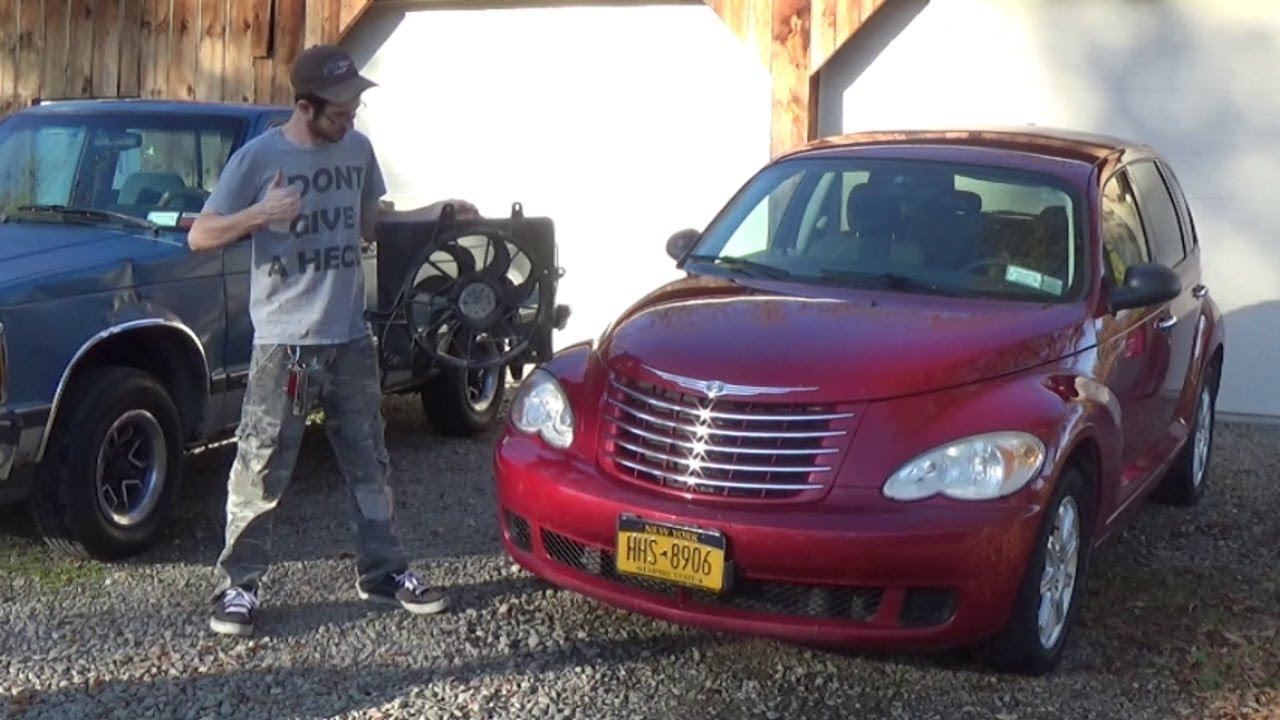 hight resolution of pt cruiser fan replacement a c issues fixed