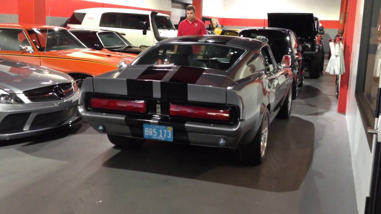 Starting up a 1967 ford mustang gt 500 eleanor