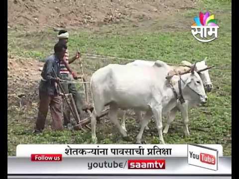 Farmers in Vidarbha region worried about uncertain monsoon showers.