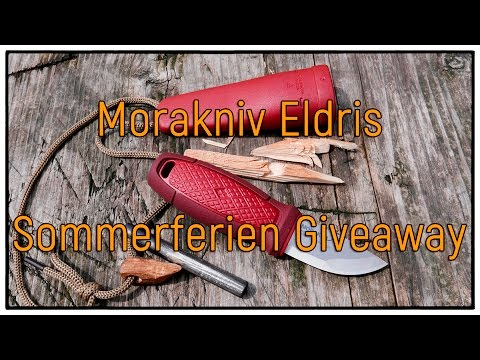 Morakniv Eldris   Sommerferien Giveaway