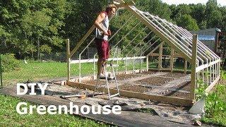 Building A Greenhouse - DIY PVC Greenhouse