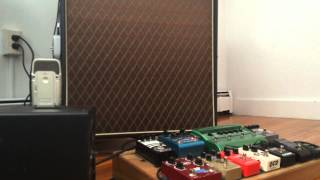 vox ac30 worship tone and pedalboard