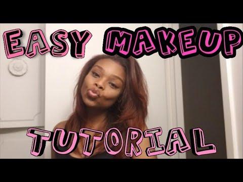 Quick & Easy Makeup Tutorial for Beginners   Novice   GRWM   VanityIsMe thumbnail