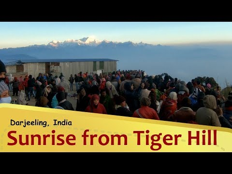 Sunrise view from Tiger Hill, Darjeeling | West Bengal
