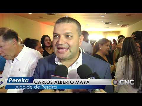 Alcalde de Pereira, presentó plan de gobierno para los próximos cien días.  - YouTube