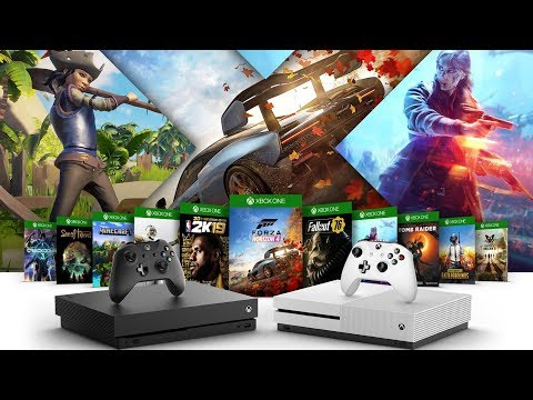 Microsoft Celebrating X018 With FREE Xbox One Games For All!!