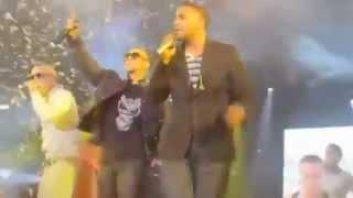 Arcangel Ft. Don Omar, Daddy Yankee & Lucenzo Danza Kuduro Remix Live