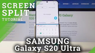 How to Split Screen in SAMSUNG Galaxy S20 Ultra – Create Dual Screen