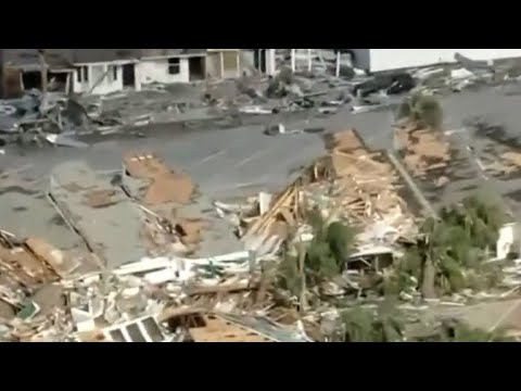 Aerial video shows devastation in Mexico Beach, Florida
