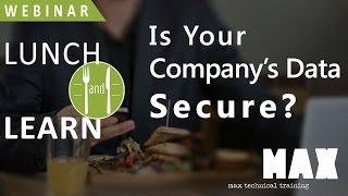 Is Your Company's Data Secure?
