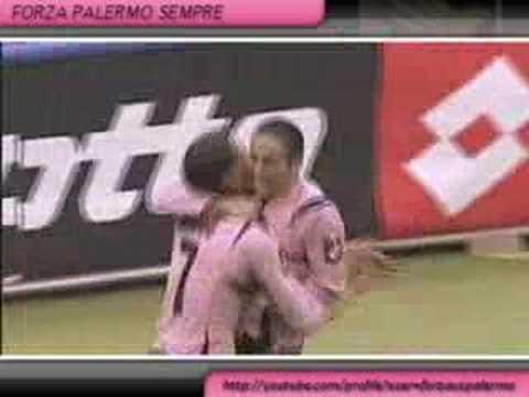 Palermo vs Fiorentina gol Edinson Cavani
