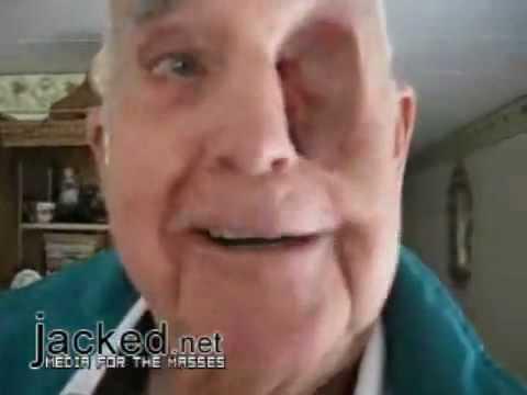 hole in eye