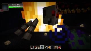 Minecraft Mob Battle:Battra Larva vs Mothra Larva,Spiderzilla