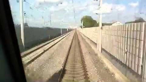 Zeitraffer - Zugfahrt Basel nach Emmendingen 2