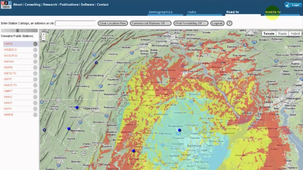 MAPS | NPR Labs