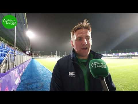 Gearoid Prendergast Reacts To His Side's Win Over Scotland