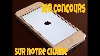 Gagne un iPhone 5 blanc : 1er concours sur notre chaîne !