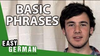 Easy German - Basic Phrases