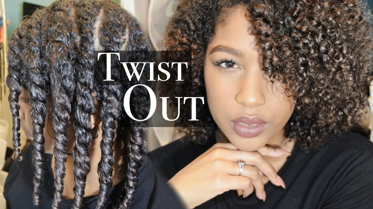 flat twist natural curly