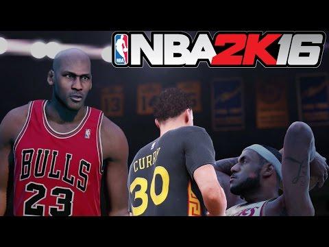 NBA2K16 MyLeague - Golden: Cavaliers Heat trio full highlights, epic battle!