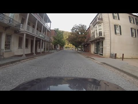 Harpers Ferry National Historical Park, West Virginia - Driving Through Harpers Ferry HD (2017)