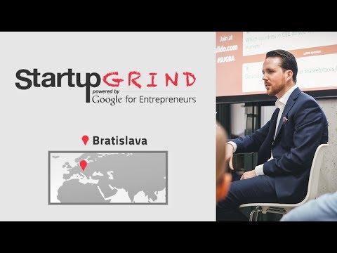 Startup Grind Bratislava with Dominik Brichta (electronic-star)