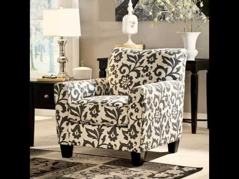 Accent Living Room Chairs | Armchairs & Upholstered Chairs - YouTube