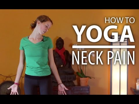 yoga for neck pain neck tension headaches  shoulder
