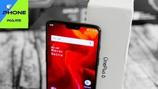 OnePlus 6 in for a Review - NOTCH Your Typical Flagship Killer