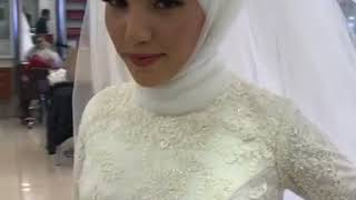 3b4c88d051a2 The best muslim wedding dress with hijab model code: g21-412 ...