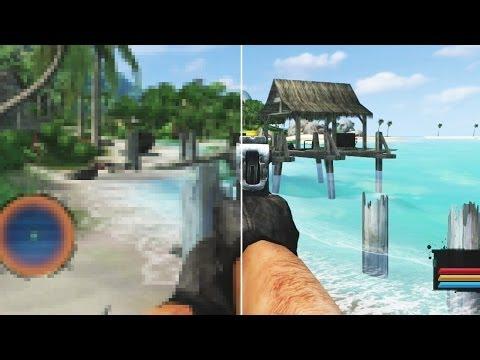 Far Cry Vs Far Cry Classic Grafik Vergleich Pc Version Gegen Ps3 Xbox 360 Neuauflage Youtube