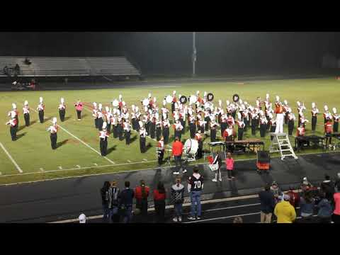 Pauls Valley High School Marching Band 2018